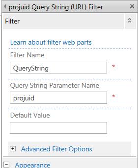 QueryString(URL)Filter_ProjUid